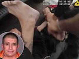 horrifying moment arizona cop tazes a man eleven times and fires at his testicles