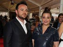 lisa armstrong claims ex-husband ant mcpartlin 'wouldn't be where he is today without her'