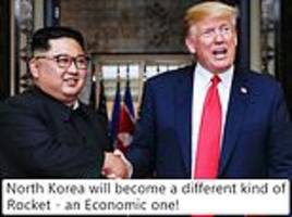 trump announces north korea summit in hanoi as he vouches for how 'capable' kim jong un is