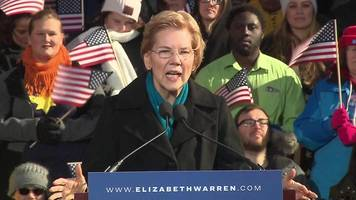elizabeth warren launches presidential bid