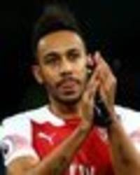 why is aubameyang not playing for arsenal despite emery backing star to start?
