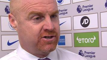 brighton 1-3 burnley: clarets found a different way to win - dyche