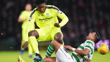 darnell johnson: hibs contest defender ban for challenge on emilio izaguirre