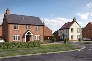 first look inside these new houses being built in south derbyshire