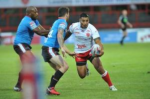 junior vaivai dropped to the bench as hull kr name team for warrington wolves clash