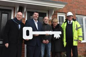 tenants move into new homes on streets named after iconic ww2 fighter aircraft in hucknall