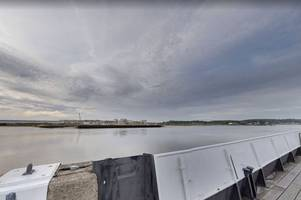 a woman was rescued from the river medway near chatham docks