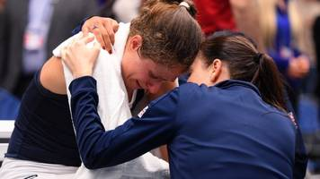 'light-headed' konta was given option to retire in gb's fed cup win