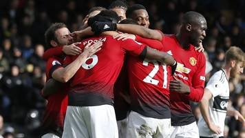 pogba and martial shine in man utd win at fulham