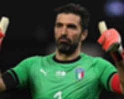 buffon: psg and man utd are equal as champions league tie approaches