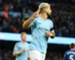 guardiola marvels at hat-trick hero aguero's consistency