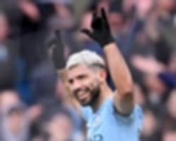 Manchester City 6 Chelsea 0: Aguero hits historic hat-trick as champions run riot and reclaim top spot