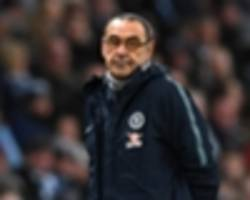 sarri expecting talks over chelsea future after man city thrashing