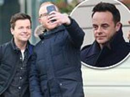 britain's got talent: declan donnelly and ant mcpartlin attend show's manchester auditions