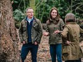 duchess creates magical woodland garden for the chelsea flower show to boost mental wellbeing