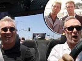 talk of the town: gary and martin kemp hit the road during a trip around hollywood