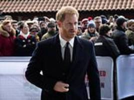 prince harry is seen for first time since meghan's 'devastating' letters