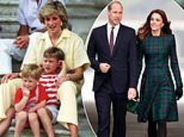 prince william told diana he didn't want to be king