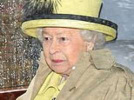 the queen brings a splash of colour in a vibrant yellow ensemble at church at sandringham