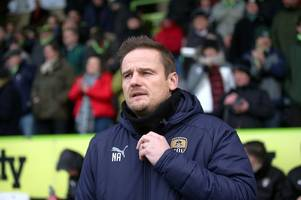neal ardley talks about future of notts county's fringe players