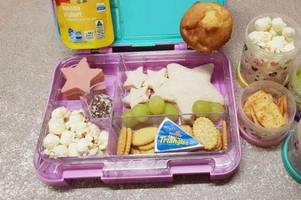 mum's photo of her daughter's packed lunch sparks massive debate after she's 'shamed' by teacher
