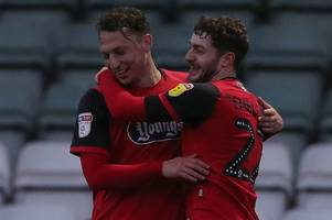 grimsby town growing in confidence as kristian dennis gets off the mark in style against yeovil