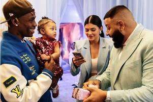 kylie jenner's daughter stormi gifted chanel handbag for first birthday