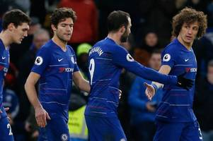 chelsea starting team confirmed: higuain and barkley in while willian's benched at man city