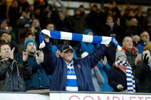 reading fc fan gallery from the stalemate at sheffield wednesday