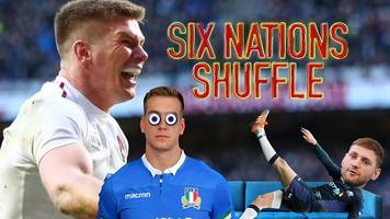 six nations shuffle: hat-trick hero may, poirot mystery solved & messages to mum