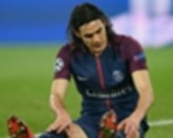 Champions League Betting: Manchester United 6/5 to qualify against PSG with Cavani doubtful for first leg