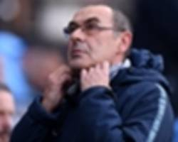 chelsea legend warns under-fire sarri he has one month to avoid 'walking'