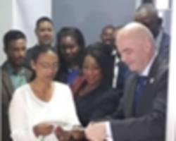 Fifa President Gianni Infantino leads Africa to open development office in Ethiopia