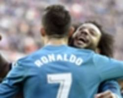 Marcelo calms talk of Ronaldo reunion at Juventus with no Real Madrid exit planned