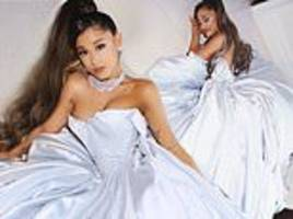 Ariana Grande's FOMO laid bare after her first Grammy win: Singer wears gown in social media snaps