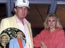 donald trump hid marla maples affair from ivana by making casino executives serve as 'beards'