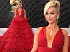 Grammys 2019: Bebe Rexha rules the red carpet in plunging gown