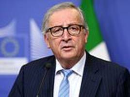 juncker to toast britain's exit from the uk by spending march 29 in dublin alongside irish pm