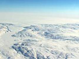 NASA spots signs of 22-MILE-WIDE crater buried beneath Greenland ice sheet