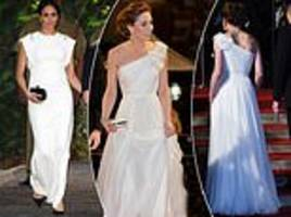 Did Kate Middleton copy Meghan Markle with Alexander McQueen BAFTA dress?