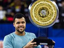 jo-wilfried tsonga dominates all-french final against pierre-hugues herbert to win 17th atp title