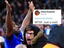 sol bamba's wife responds after cardiff city defender jokes that fan hugged him harder