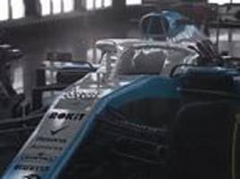williams unveil brand new colour scheme for their formula 1 cars