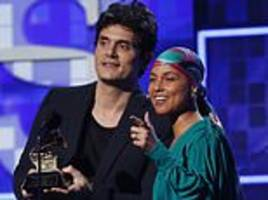 Alicia Keys and John Mayer reflect on splitting the Grammy for Song of the Year in 2005