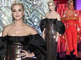 katy perry dazzles at mark ronson's grammys party after dolly parton tribute