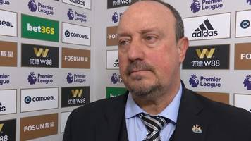 Wolves 1-1 Newcastle: Rafael Benitez disappointed with late goal