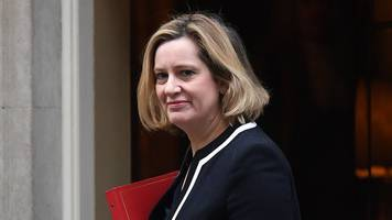 amber rudd links universal credit to rise in food bank use