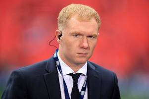 Manchester United and England great Paul Scholes named new manager of Oldham Athletic