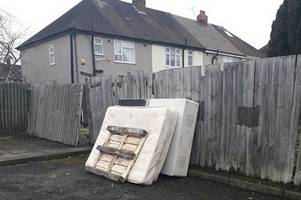 brazen fly-tipper fined for dumping a bed in broad daylight