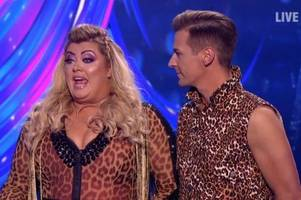 gemma collins's furious rant at all four dancing on ice judges as she's axed from itv show